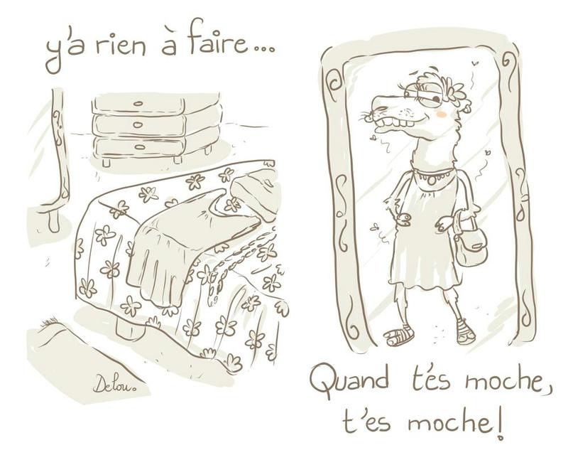 Delou_beau_moche_miroir