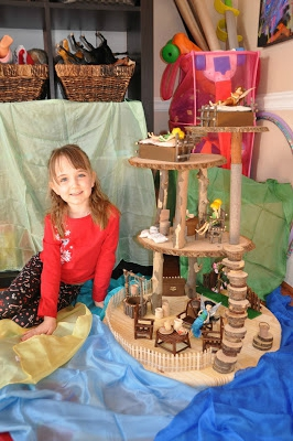 e with fairy house