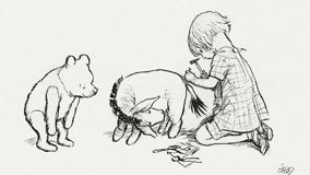 Les Aventures de Winnie l'Ourson - Illustration d'Ernest H