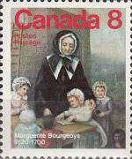 Timbre Canada 1975 Marguerite Bourgeoys