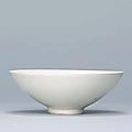 A Huozhou white-glazed bowl, Northern Song-Jin Dynasty (960-1234)