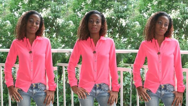 chemise-rose-fluo