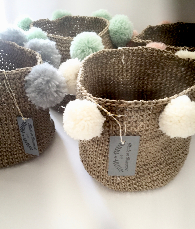panier, crochet, ficelle de lin, madeinbeaumont