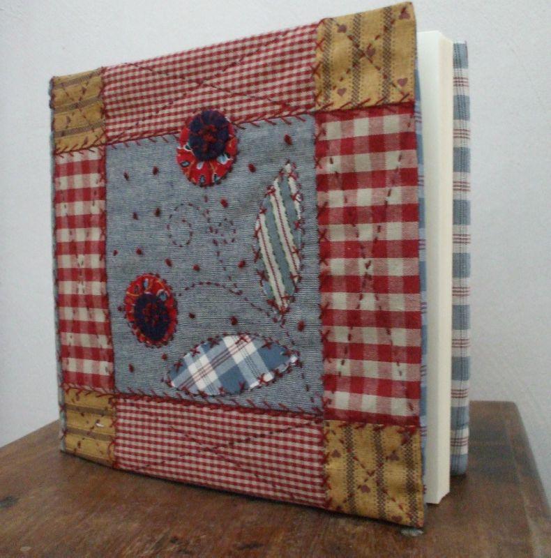 couverture d 39 album photo photo de patchwork catherine tourel cr a. Black Bedroom Furniture Sets. Home Design Ideas