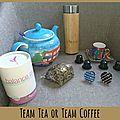 Team tea or team coffee? {concours terminé}
