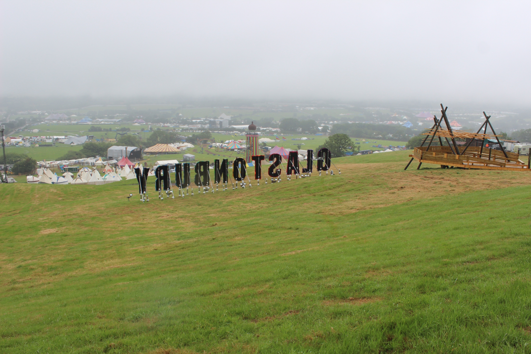 Glastonbury festival en 10 photos • J-2 • lundi 22 juin 2015