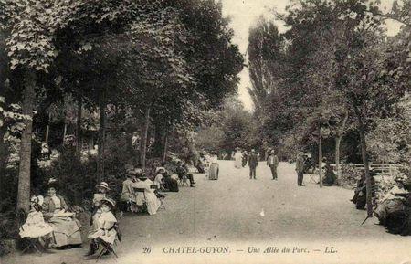 chatel allee du parc 1900