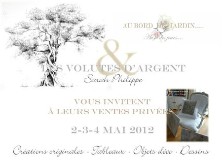 Invitation ventes privées mai 2012
