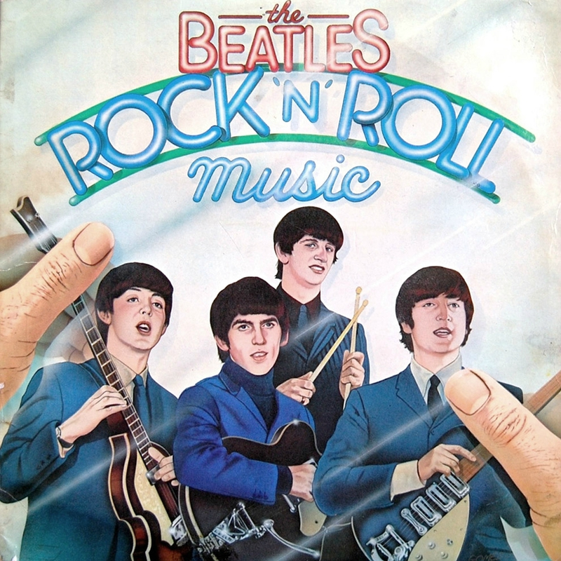 beatles-rock-n-roll-music-album