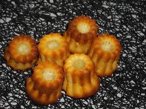 mini canelé noix de coco