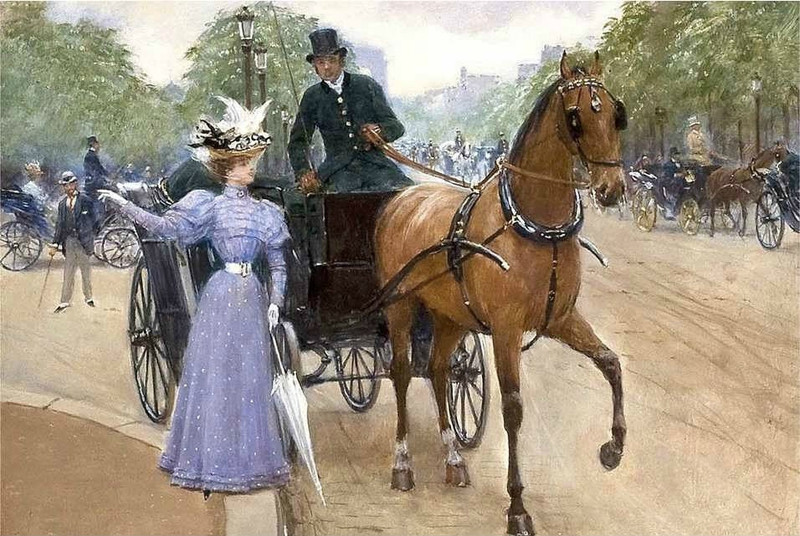 beraud jean la dame utile 1899