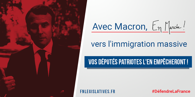 Macron immigration massive