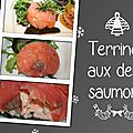 Terrines aux deux saumons