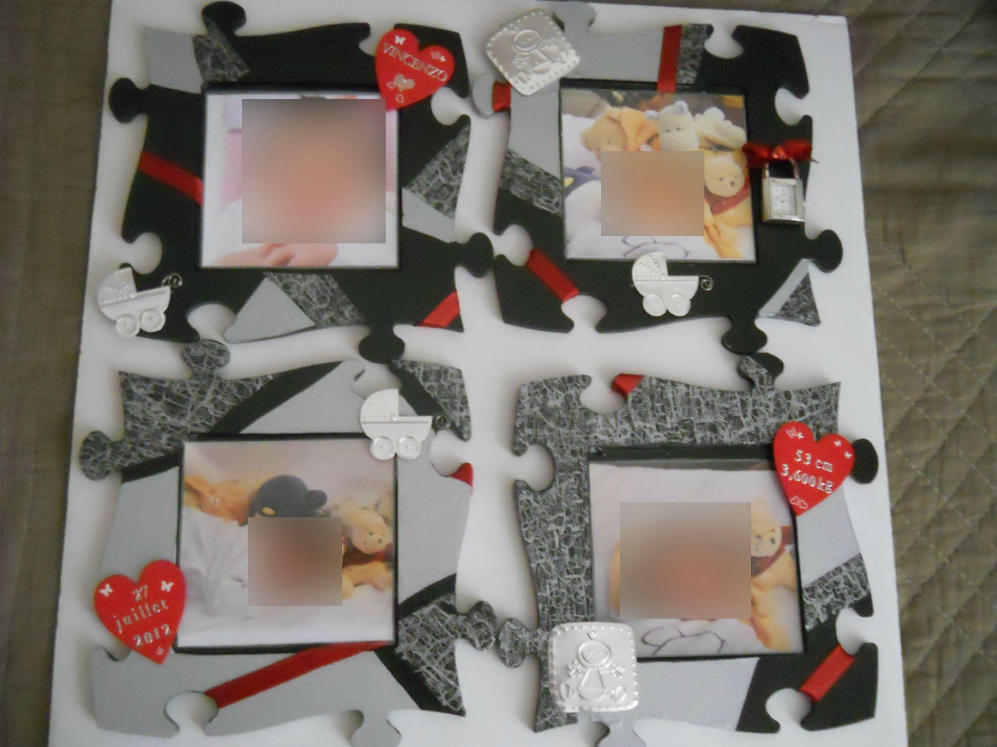 cadre personnalis album photos les gourmandises et cr ations de sandrine. Black Bedroom Furniture Sets. Home Design Ideas