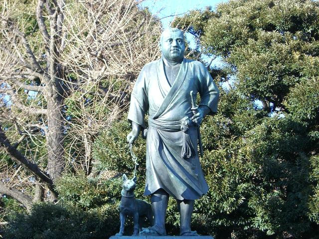 statue-of-saigo-takamori--with-a-dog