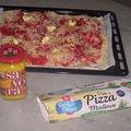 Pizza à la savora et pâte spéciale...