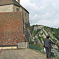 Visite du chateau de joux