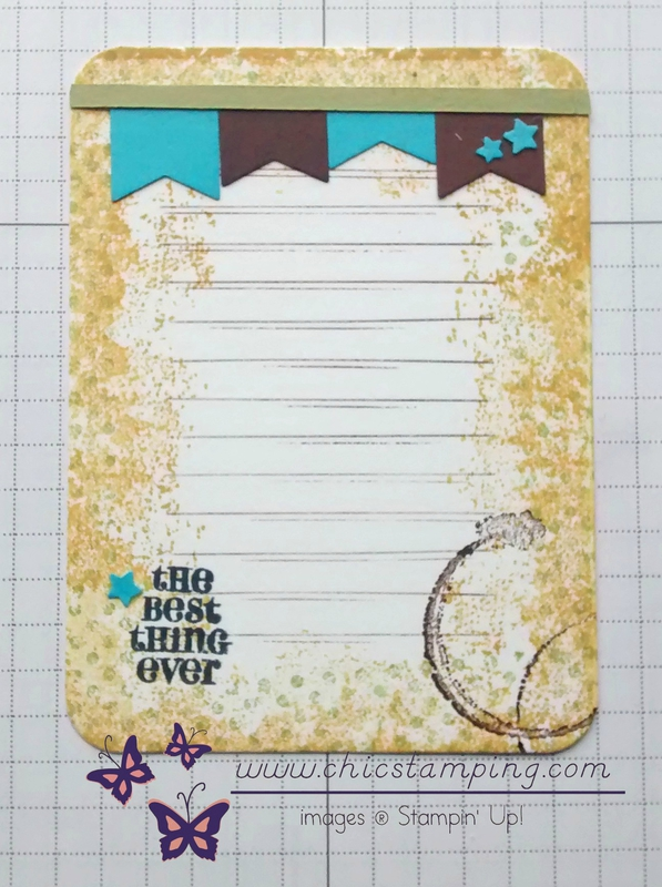 DIY project life card series Yellow vintage 1