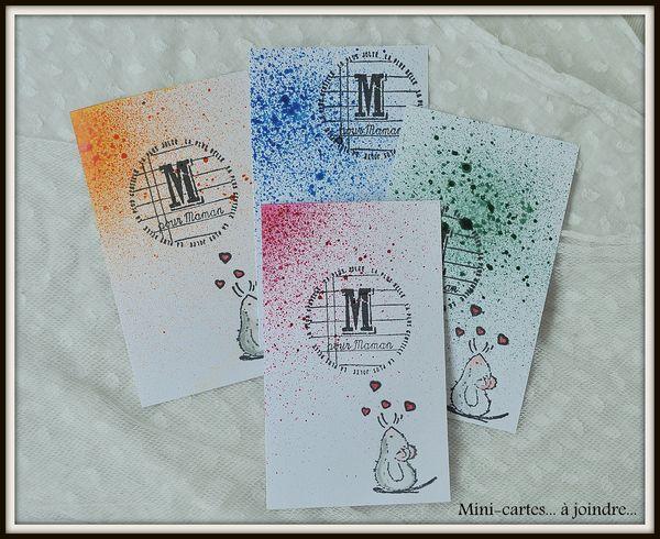Les Mini cartes offertes