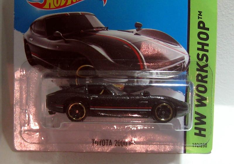 Toyota 2000 GT (2014) Hotwheels