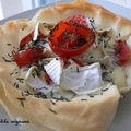 Tarte tomates & camembert