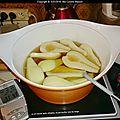 Les bases - poires au sirop (ou autres fruits à pocher)