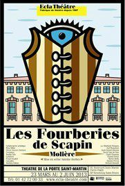 affiche_Les_Fourberies_de_Scapin_red