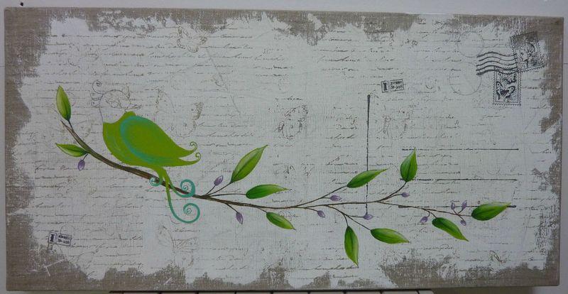 carine oiseau florence melocco cours de peintures d coratives et patines. Black Bedroom Furniture Sets. Home Design Ideas