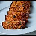Cake semoule/ratatouille