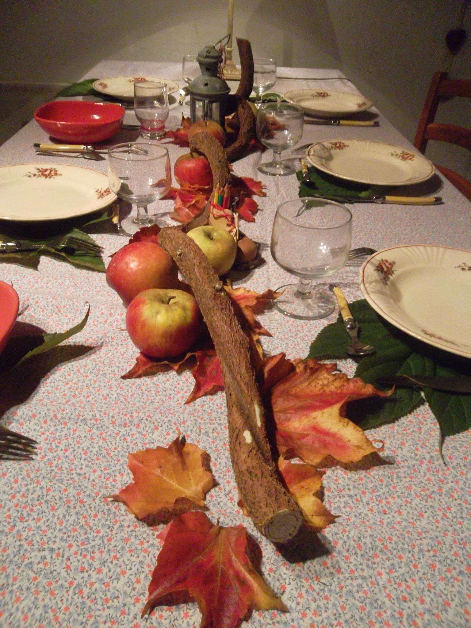 Photo Table Decoration Theme Automne : Table d automne la renarde des alpes