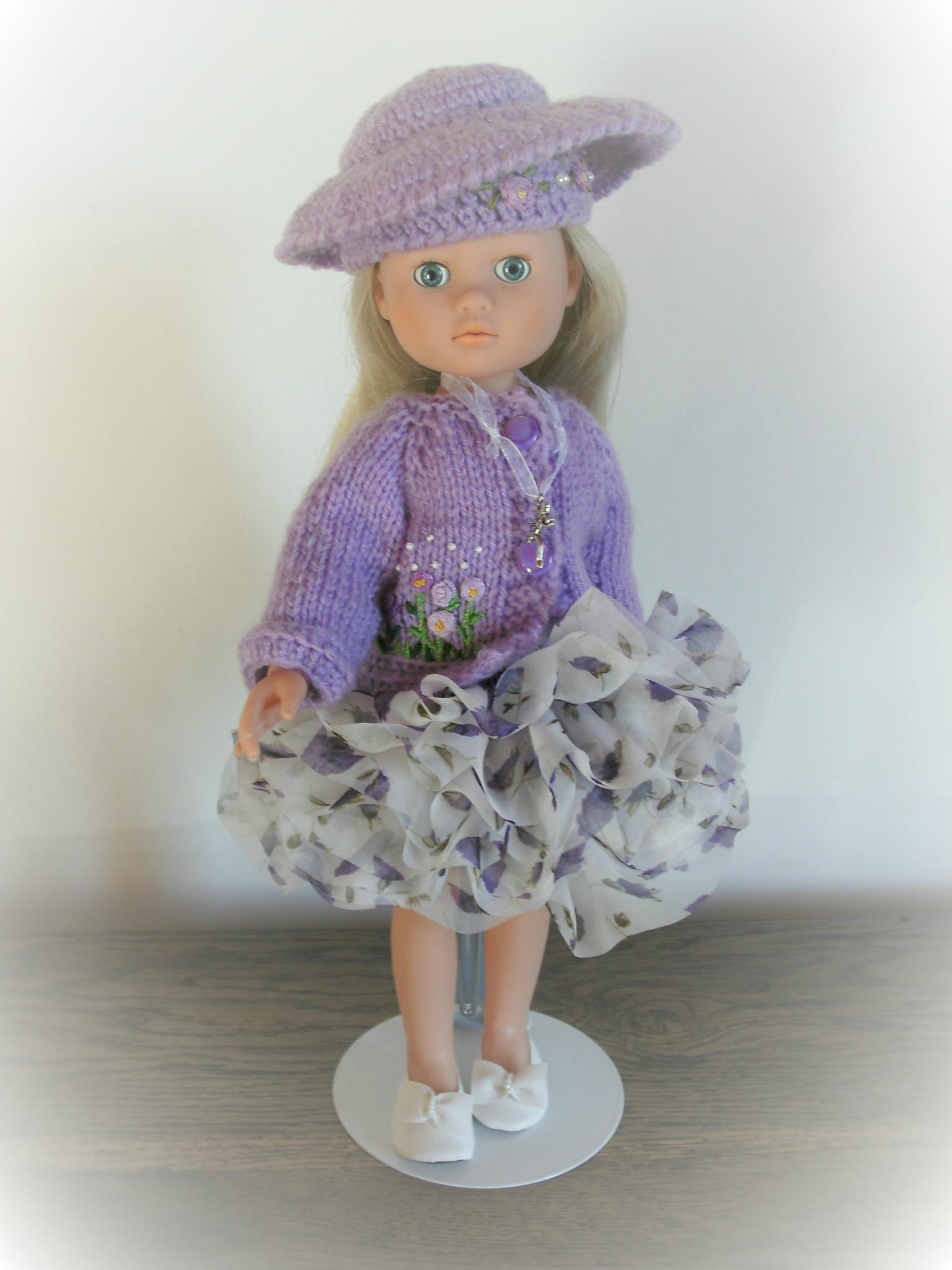 """""""Violet"""" pour tenue de coktail pour chérie et cie"""