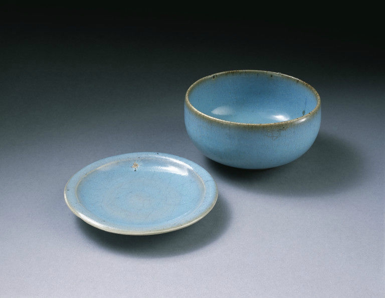 Tea bowl , Northern Song-Jin dynasty (1100-1200), Jun kilns, north China