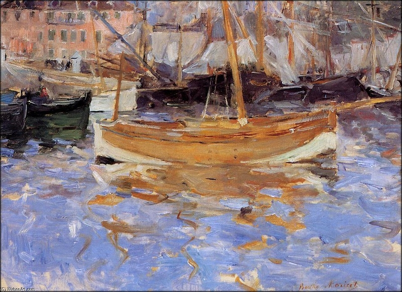 BERTHE_MORISOT_THE_PORT_OF_NICE_001