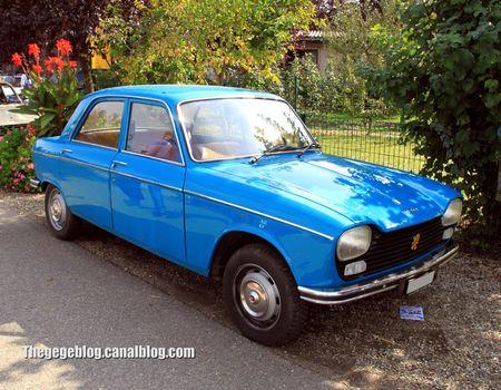 Peugeot 204 berline (31ème Bourse d'échanges de Lipsheim) 01