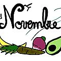 Fruits et lgumes de Novembre 