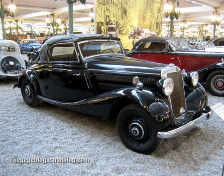 Mercedes 170 V cabriolet de 1938 (Cité de l'Automobile Collection Schlumpf à Mulhouse) 01