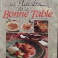 Les plaisirs de la Bonne Table
