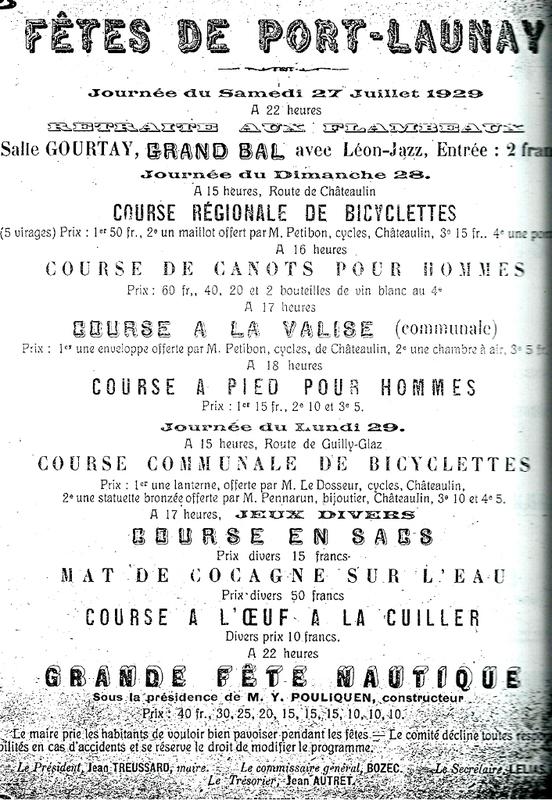 Les Joyeuses fetes de Port-Launay en 1929