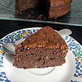 Gâteau au chocolat et ... aux pommes de terre