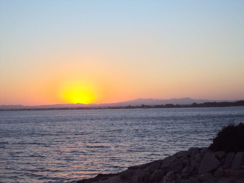 Le coucher de soleil du mardi 31 août