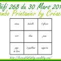 268 combo printanier