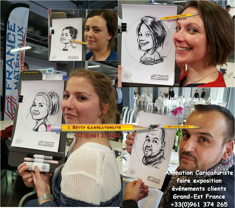animation_stand_foire_expo caricaturiste caricature cartoonist france