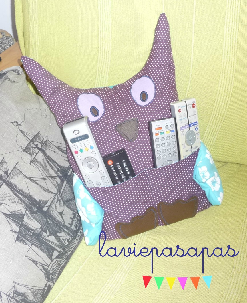 { Owl, coussin for fun }