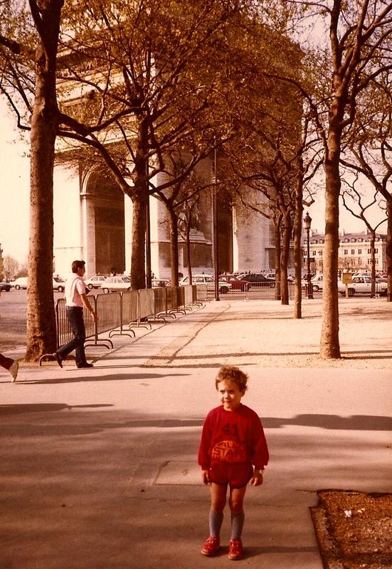 25 avril 1984 Arc de Triomphe