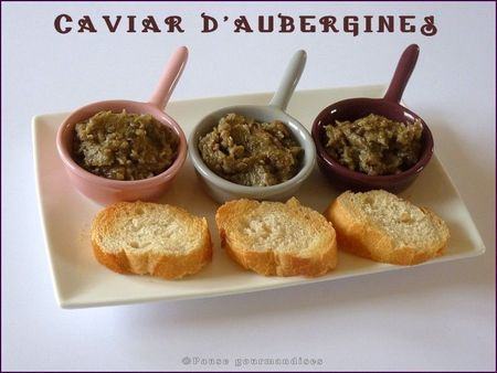caviar d 39 aubergines thermomix pause gourmandises. Black Bedroom Furniture Sets. Home Design Ideas