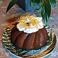 Gâteau au citron, glaçage au mascarpone