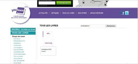 scribulations 01-08 sur youbook par la madolière_