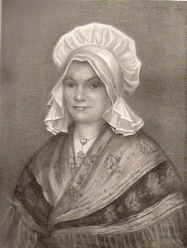 Femme de Saint-Véran (XVIIème siècle)- d'après Pastel