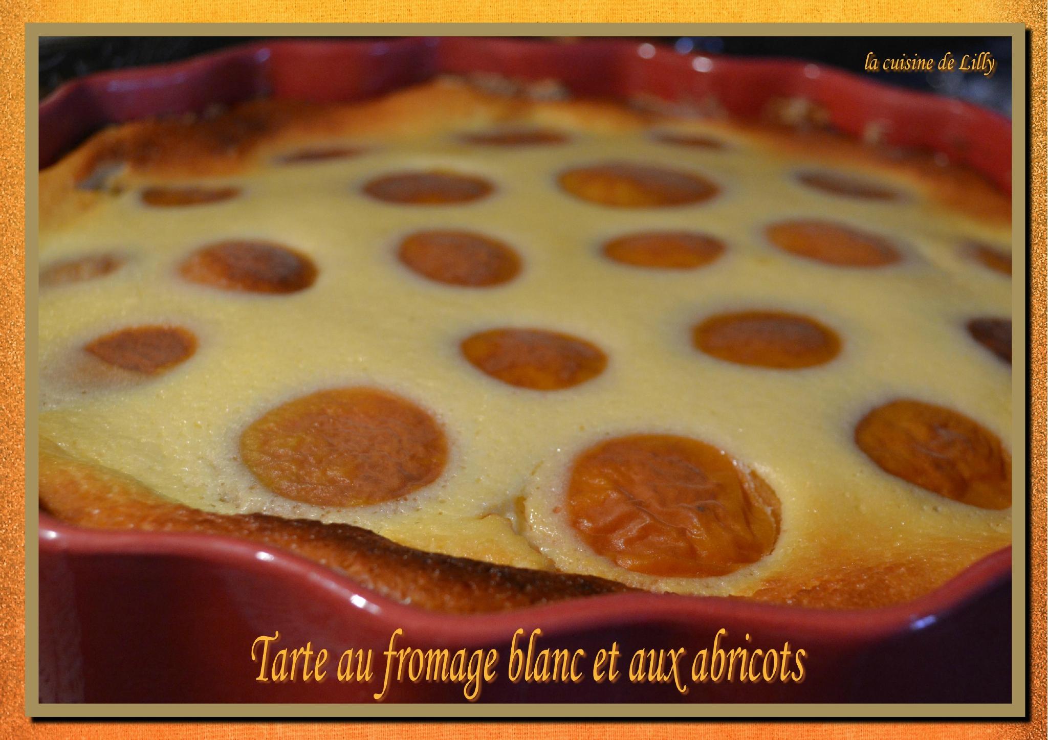 Tarte au fromage blanc sans p te et aux abricots la - Cuisine legere marmiton ...