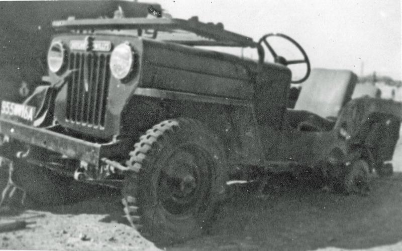 12 RCA OLEKSIUK 1958 jeep sauté sur mine